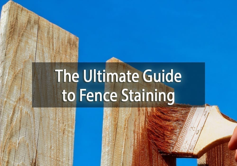 The Ultimate Guide To Fence Staining Surepro Painting
