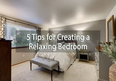 Tips for Creating a Relaxing Bedroom