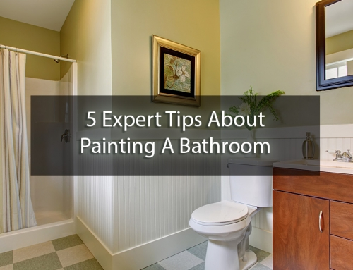 5 Expert Tips About Painting A Bathroom