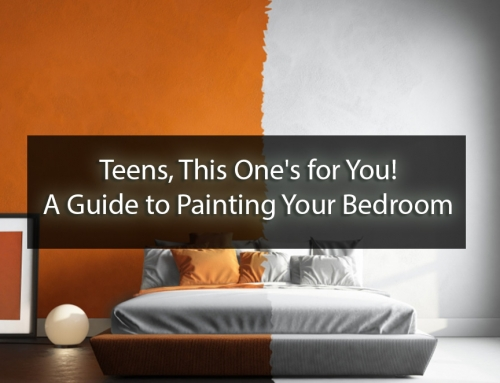 Teens, This One's for You! A Guide to Painting Your Bedroom