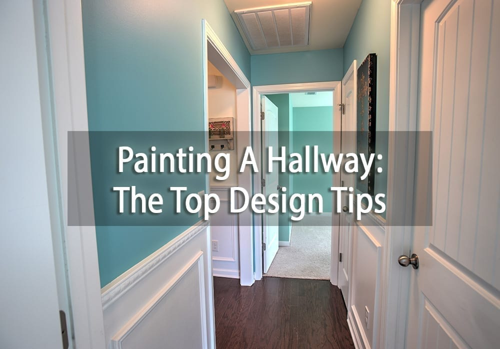 top tips for painting a hallway