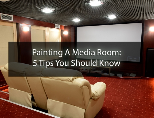 Painting A Media Room: 5 Tips You Should Know