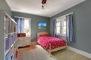 minimalist teen bedroom