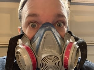 breathing mask for lead paint removal