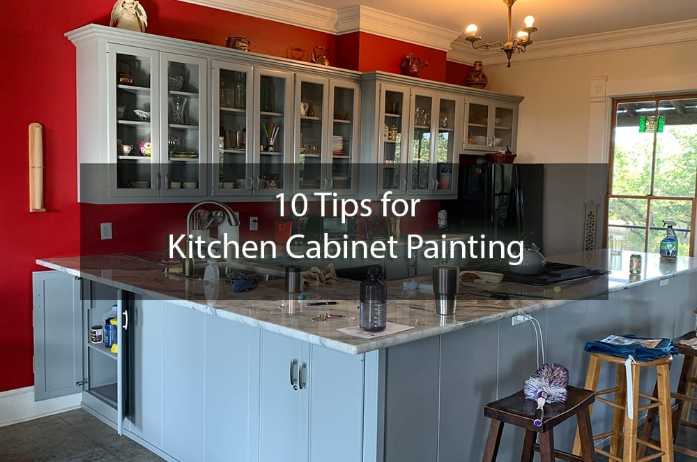 10 Tips for Kitchen Cabinet Painting
