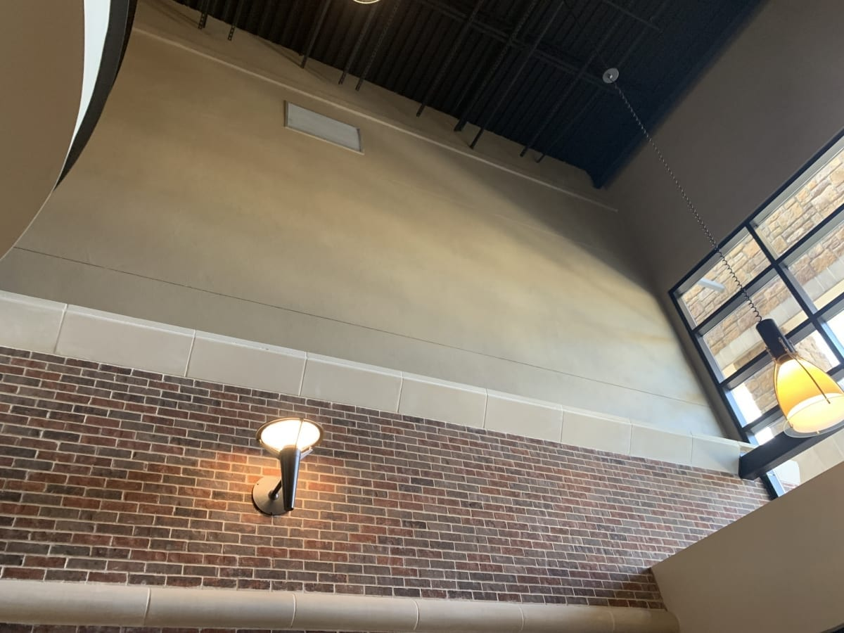 Bee Cave High Wall - Interior Commercial Painting