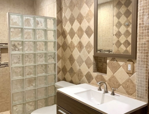 Bathroom Remodel – Tiling and Painting