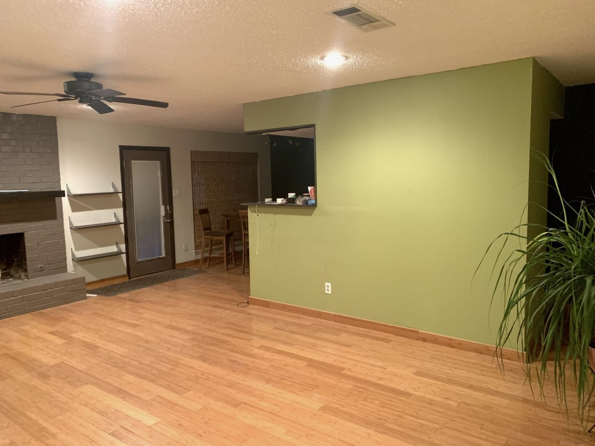 House remodel - painted living room