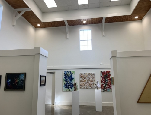 Central Texas Art Gallery – Interior Painting