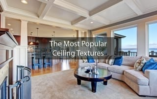 the most popular ceiling textures