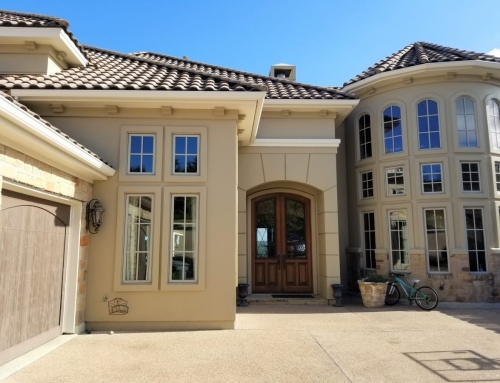 Stucco House Painting – Large Stucco House