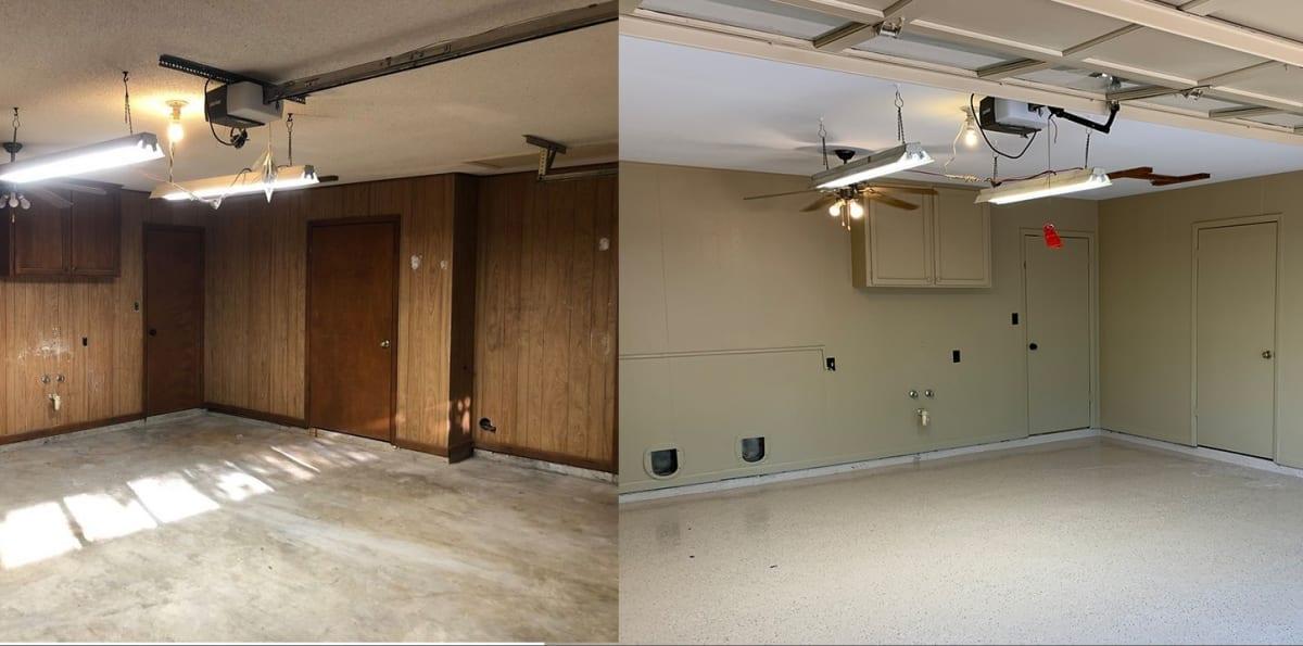Paint Garage Walls And, Interior Garage Paint