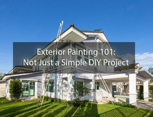Exterior Painting 101: Not Just a Simple DIY Project