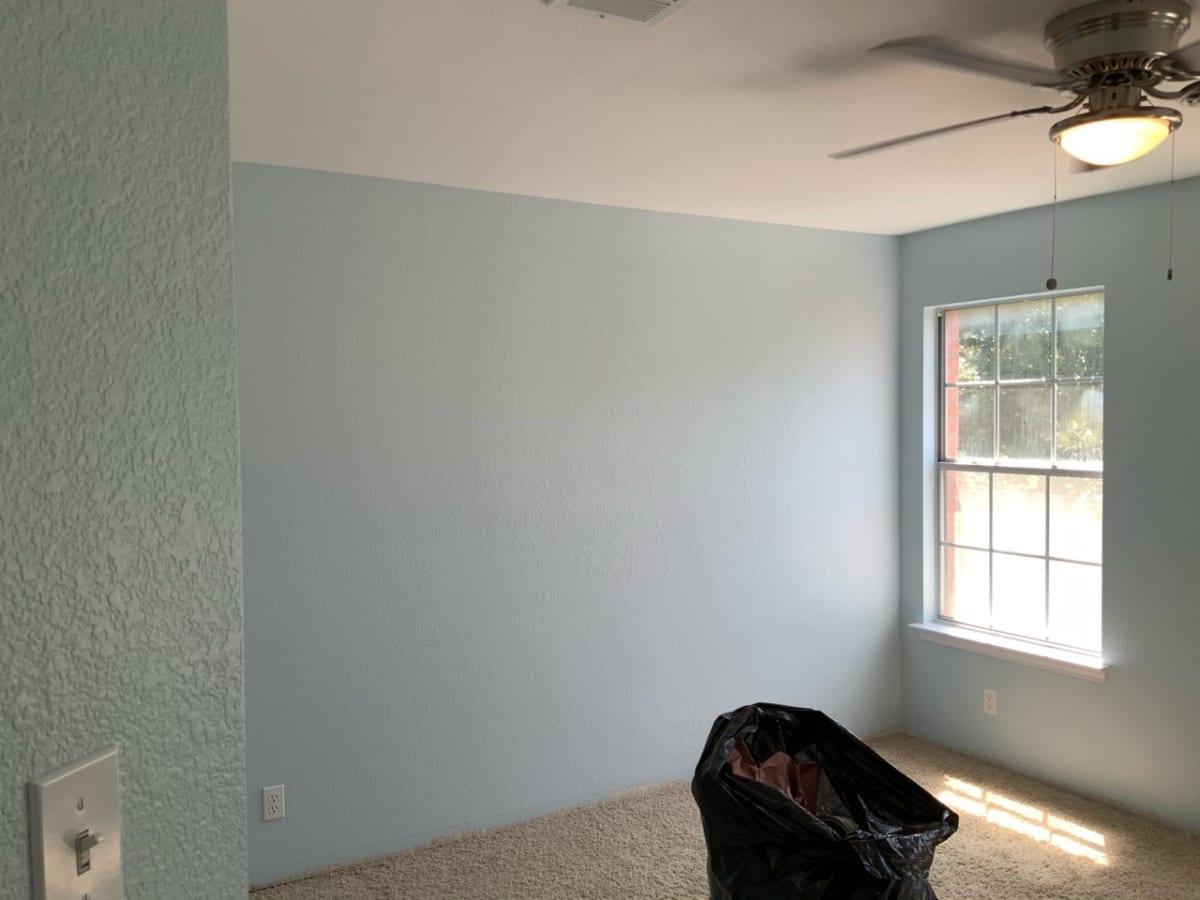 baby blue bedroom