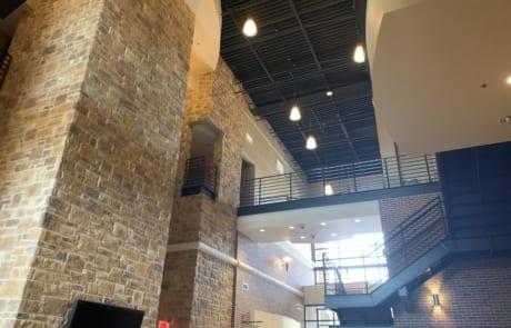 bee cave commercial interior - atrium