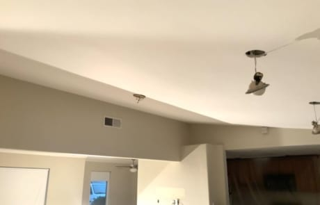 textured and painting ceilings